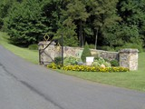 Natural Stone Gateway Entrance