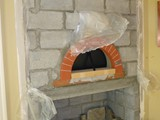 Pizza Oven Interior Build