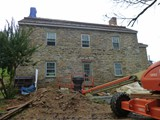 Stone Masonry Restoration In Progress